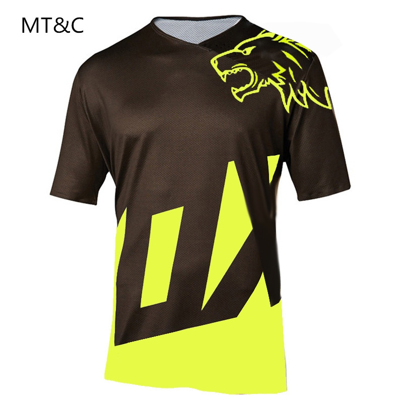285133357 MOTO Maillot DH T-shirt 2019 Hot sell motocross MTB DH MX Jersey Bicycle  Cycling