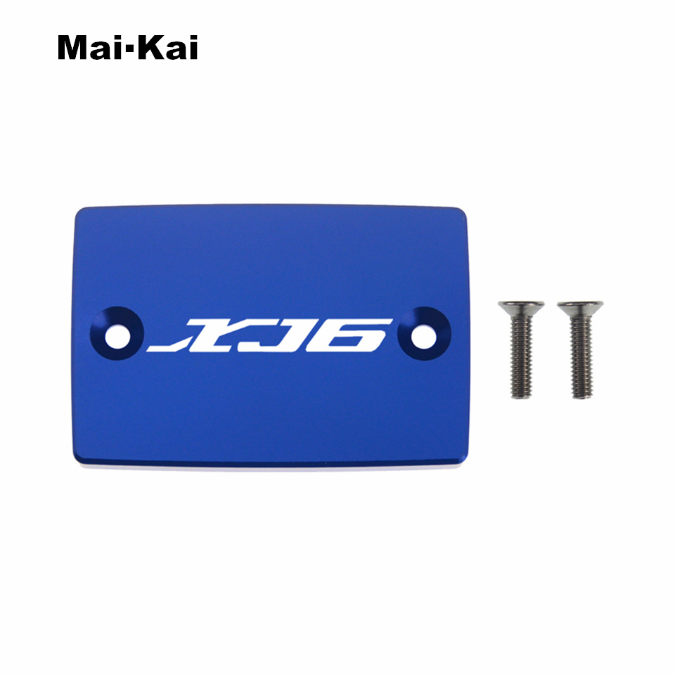 MAIKAI For YAMAHA XJ6N 2009 2014 XJ6F 2009 2013 XJ6 Diversion 2009 2013 CNC Aluminum Motorcycle Brake Fluid Fuel Tank Cap Cover in Covers Ornamental Mouldings from Automobiles Motorcycles