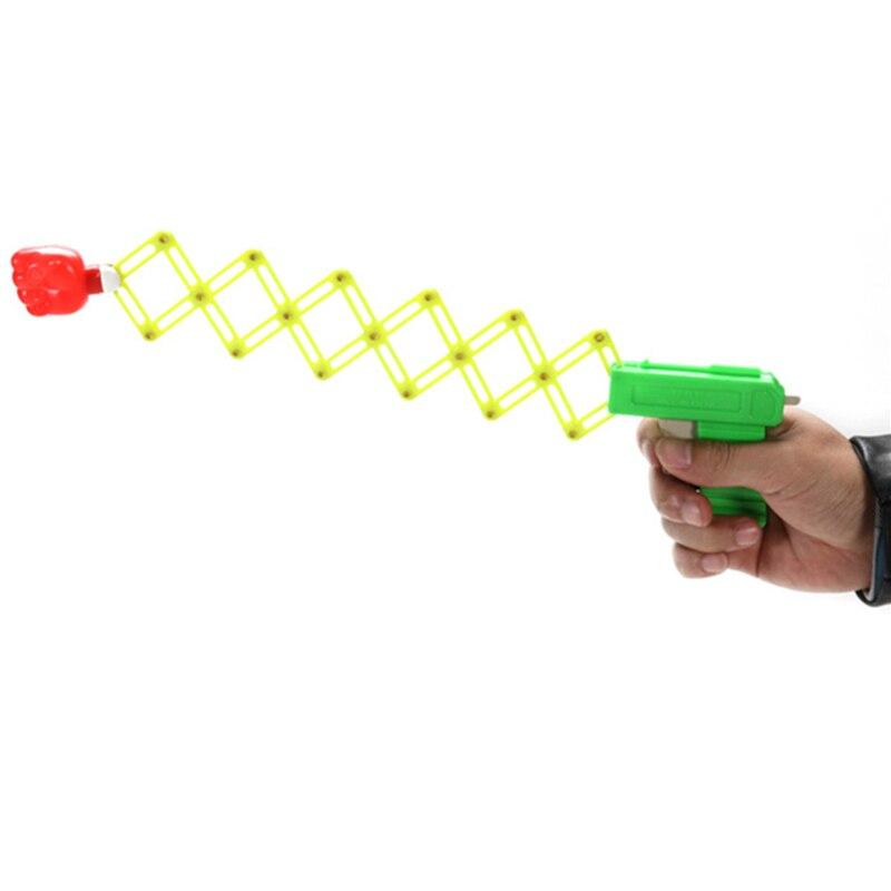 3PCS Creative Plastic Fist Catapult  Slime Toys Funny Slingshot Novelty Gag Toy Gadget