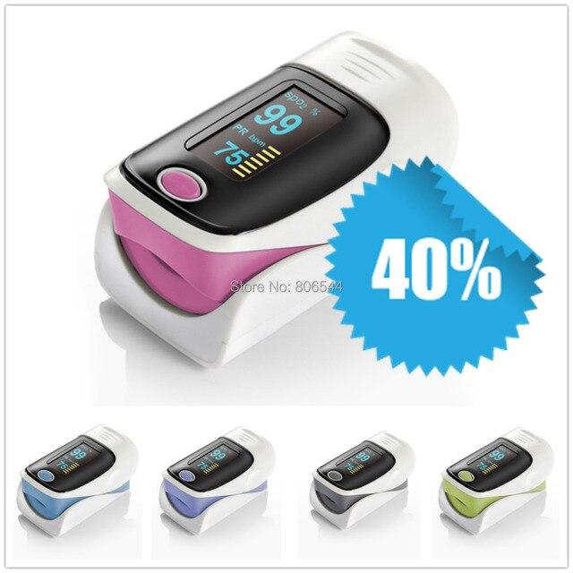 Health Care CE FDA JX-01 OLED Display Fingertip Pulse Oximeter, Blood Oxygen SpO2 PR saturation oximetro monitor GREY COLOR