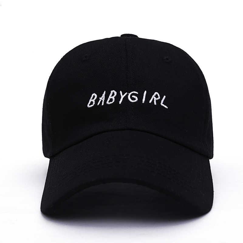 6a7a1f926f6 VORON BABYGIRL ONGESTRUCTUREERDE BASEBALL DAD CAP HOED DRAKE NIEUWE-ZWART