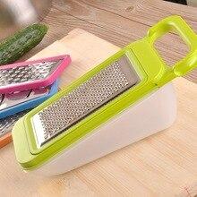 Premier Kitchen 4 Reiben und Schneidemaschinen mit Fach Gemüse und Obst Allesschneider Werkzeug Material SUS 304