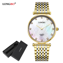 Fashion LONGBO Luxuary Lovers Watch Classic Business Style W
