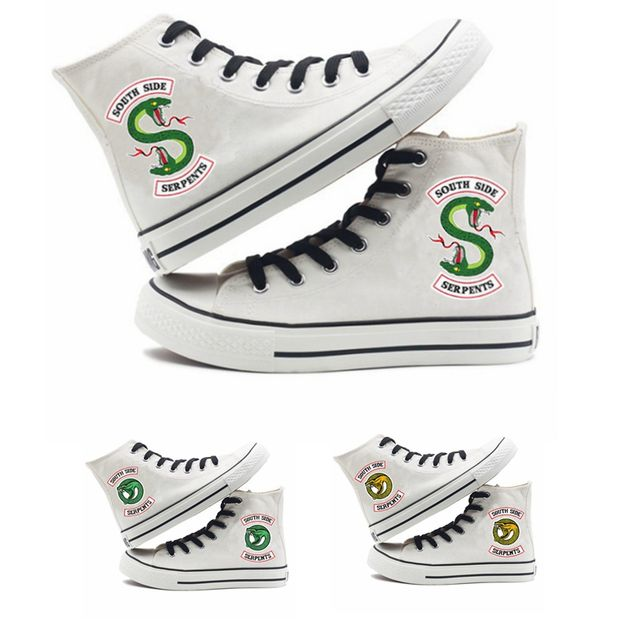 RIVERDALE SOUTH SIDE SERPENTS HIGH TOP SHOES (6 VARIAN)
