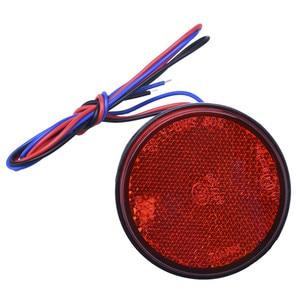 أحمر أصفر أبيض 24 smd سيارة جولة الذيل أضواء بدوره سينجال ضوء atv led عاكسات شاحنة الجانب أضواء التحذير