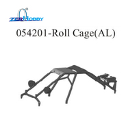HSP RACING RC CAR UPGRADE SPARE PARTS ACCESSORIES 054201 AL ROLL CAGE FOR HSP 1 5