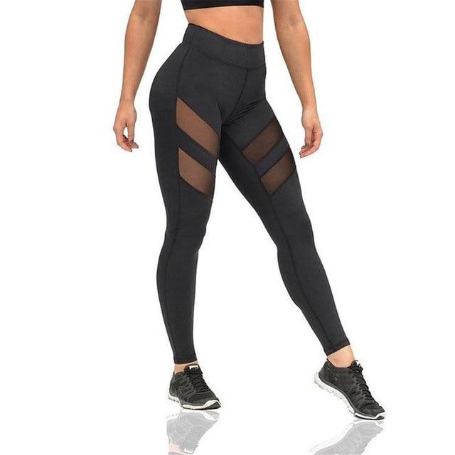 Winter Leggings Skinny Panties Gray Stripe Fitness Warm Leggings Women's Pant High elasticity Legency Workout Leggins