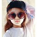 Стрелка детские солнцезащитные очки 2016 новинка корейской солнечные очки UV400 ретро круглая рамка очки для детей