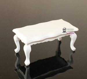 """Image 4 - 5.24 """"Dollhouse minyatür 1:12 oturma odası bebek mobilya kanepe seti 4 kanepe küçük kırmızı küçük çiçek tarzı"""