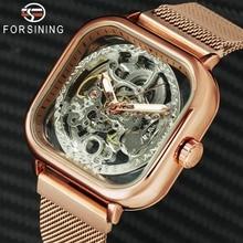 FORSINING Top Brand Luxury Unisex Watch Men Auto Mechanical
