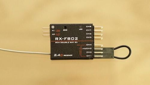RX-F802 8CH PPM Receiver for FRSKY X9D X9D Plus For DJI DFT DHT
