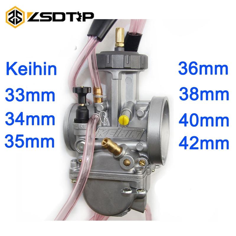 ZSDTRP 4 t motor 33 34 35 36 38 40 42mm PWK KEIHIN Motorrad Vergaser universal für Honda KTM suzuki Kawasak
