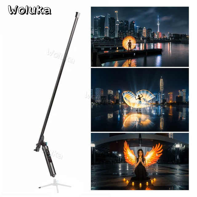 144 LEDs light The All-In-One Light Remote Magic Light Flash Plot Stick Painting Tool Animation Blink For Photography CD50 T01