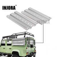 INJORA 2Pcs Metal Sand Ladder Recovery Board for 1/10 RC Rock Crawler Axial SCX10 90046 Traxxas TRX-4 D90 D110 Tamiya CC01