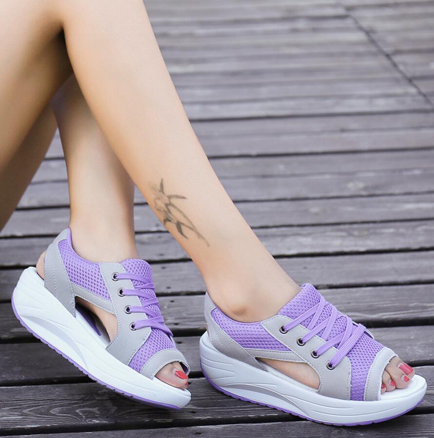SAGYUA Candy Elegant Sommar Kvinnor Mode Sandal Handgjord Mujer Peep - Damskor - Foto 5