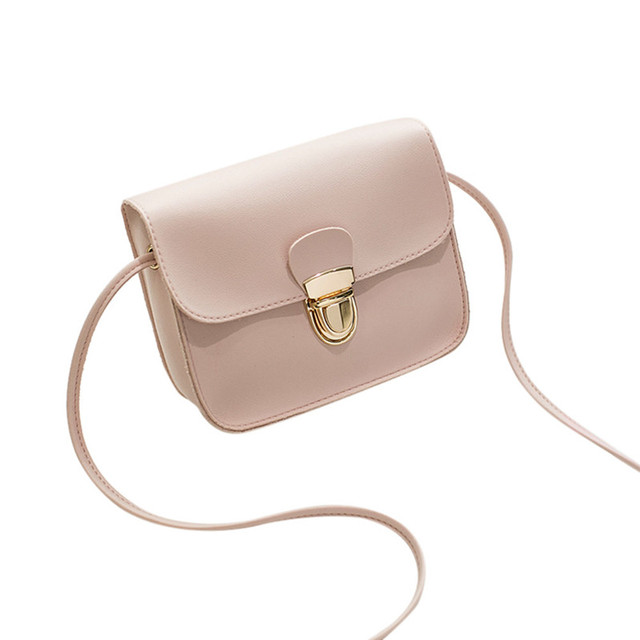 Small Women Bags PU leather Messenger Bag Clutch chain Bags Designer Mini Shoulder  Bag Women Handbag 445aedf05e89c