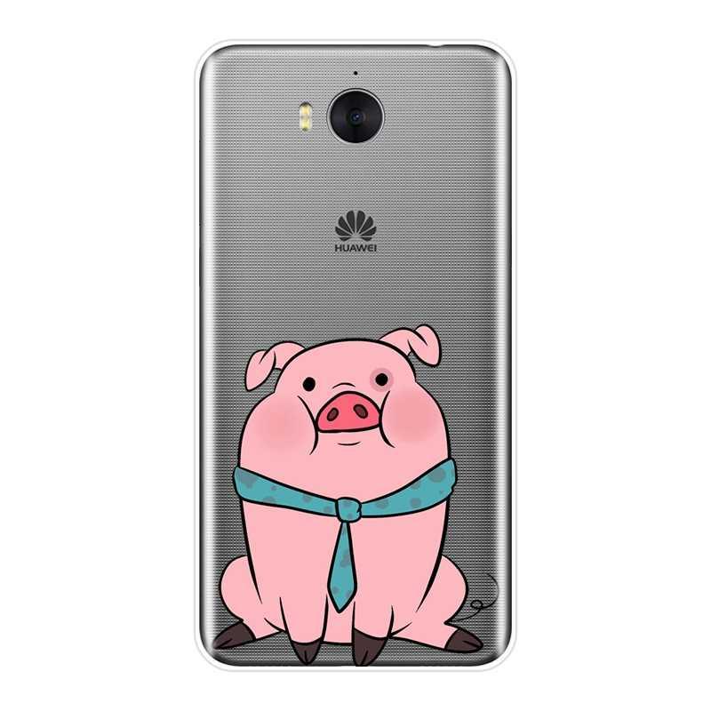 Ốp Lưng Cho Huawei Y3 Y5 Y6 Y7 2017 II PRO Trọng Lực Rơi Silicone Mềm Dành Cho Huawei Y5 Y6 y7 Prime 2018 Y9 2019 Ốp Lưng Điện Thoại