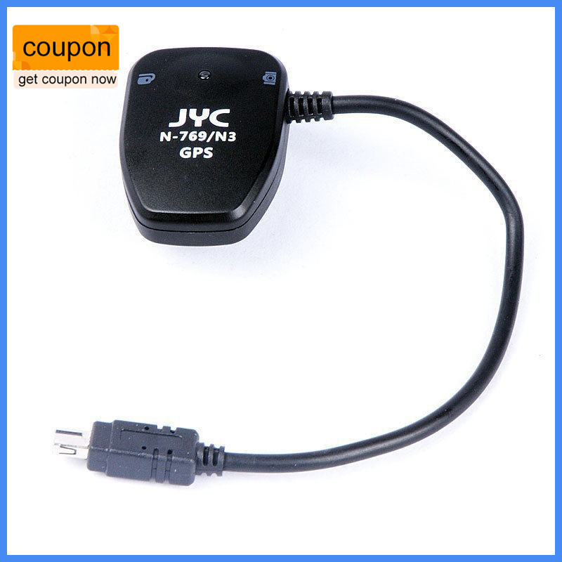 JYC N-769/N3 Camera GPS Receiver Geotag GP-1 for Nikon D3100 D3200 D5000 D5100 D600 D7200 D5200 D3300 D tc n3 1 1 lcd camera timer remote controller for nikon d90 d5000
