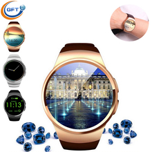 GFT kw18 smart watch sim 3G handy uhr männer mode smart uhr round sport smart uhr kw08 plus bluetooth smartwatch