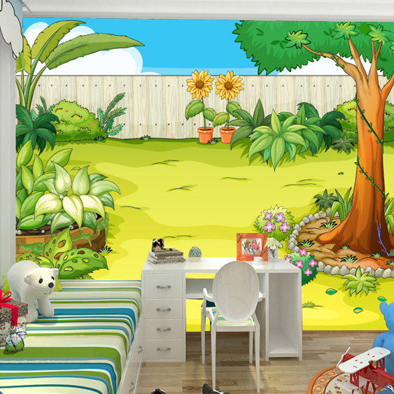 Buy the cartoon photo wallpaper of for Children s mural wallpaper