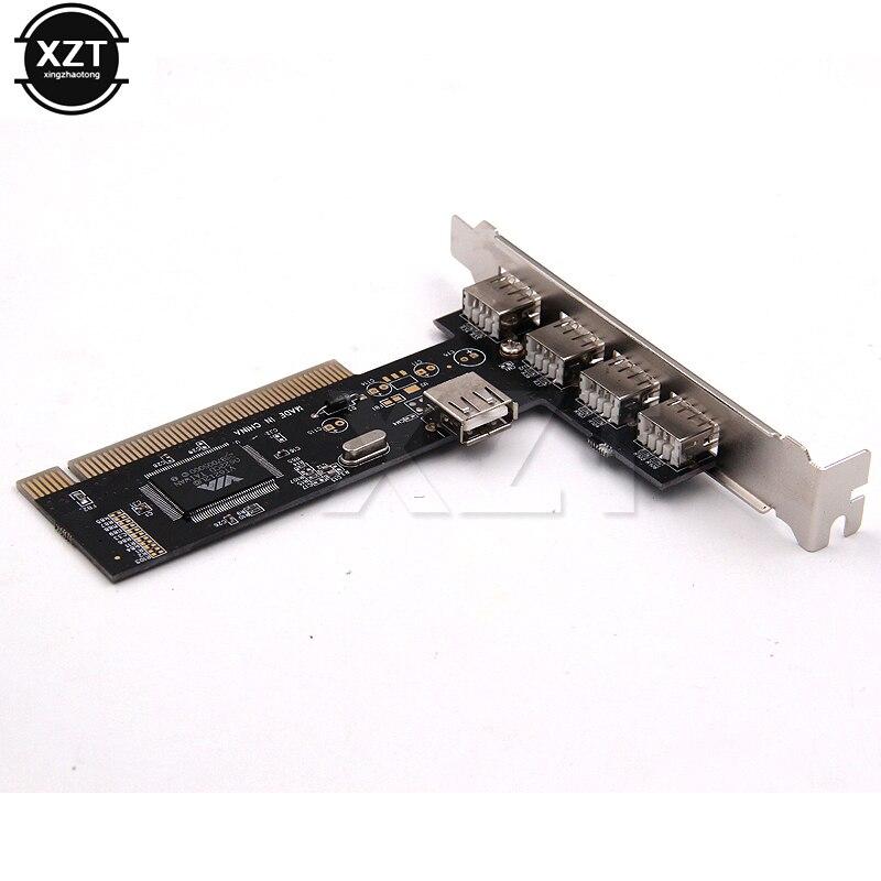 Высокоскоростная карта USB 2,0 с контроллером концентратора PCI, 4 порта, адаптер 480 Мбит/с, PCI карты, 1 шт.|Платы расширения|   | АлиЭкспресс