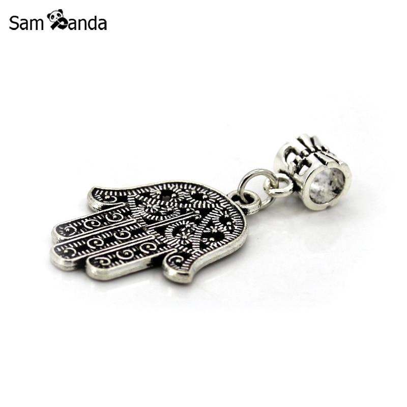 3dd0f4648855 ④Alta calidad de mano de Buda plateó grandes manos Amuletos ...