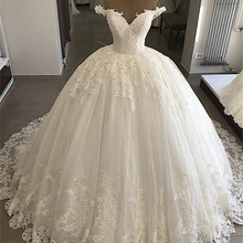 SexeMara Vintage Wedding Dresses Plus Size Bridal Gowns
