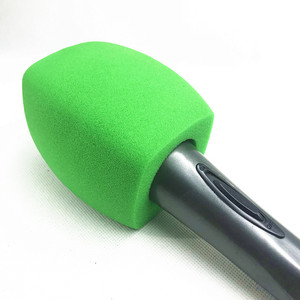 Image 1 - Linhuipad green Interview Mic covers windscreen Handheld microphone windshield For TV station broadcasting Video Mic Insider