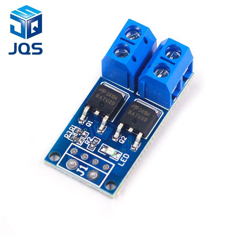 1PCS 15A 400W MOS FET Trigger Switch Drive Module PWM Regulator Control Panel