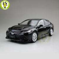 1/18 Toyota New Camry 2018 8th generation Diecast Car Model Toys for kids Children Collection Black