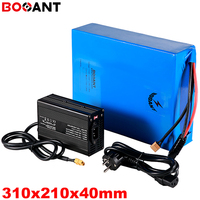60V 15Ah 17Ah 18Ah lithium battery for Panasonic Sanyo 18650 cell 16S 5P 60V 1000W electric bike scooter battery with 5A Charger