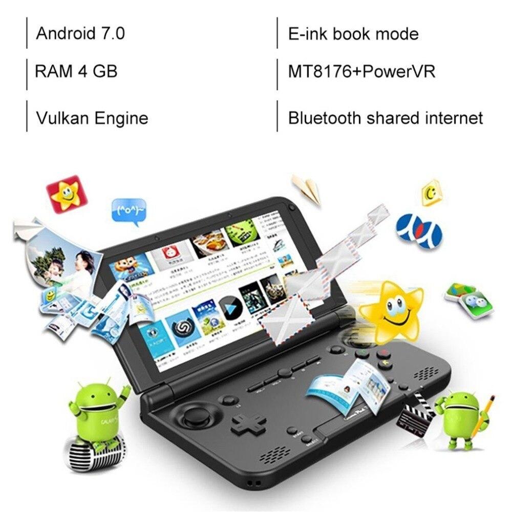 GPD XD PLUS 5 Pouces Joueur de Jeu Gamepad 4 GB/32 GB MTK8176 2.1 GHz console de jeu portable Joueur de Jeu