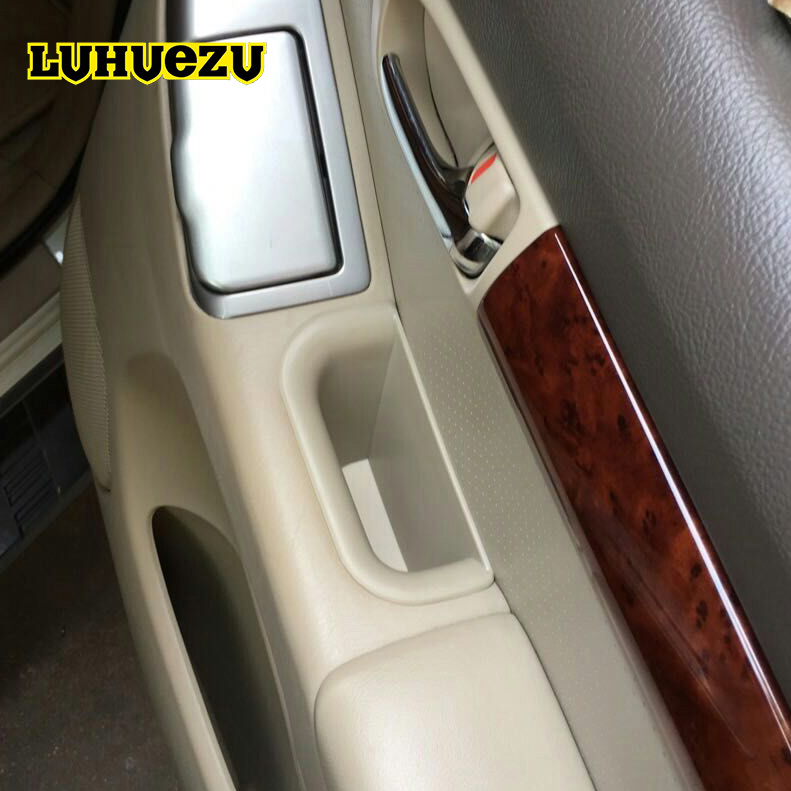 2003-2009 Pour Toyota Land Cruiser Prado 120 Accessoires Inerior Porte Poignée Boîte De Rangement Container Titulaire Plateau