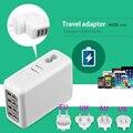 BrankBass 4 Porta USB Plugue DA UE ou do REINO UNIDO ou EUA ou AU 2.1A AC Power Travel Home Parede Adaptador de Carregador Para Smartphone e PC