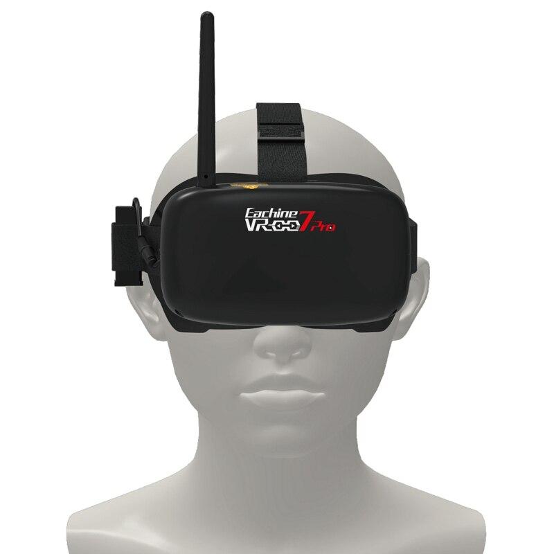 Eachine VR 007 Pro VR007 5.8G 40CH FPV Bril 4.3 Inch Video Headset 3.7V 1600mAh Batterij VS Skyzone SKY02S V + Aomway Commander-in Onderdelen & accessoires van Speelgoed & Hobbies op  Groep 2