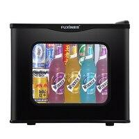 Фусинь холодильник небольшой дом однодверный мини общежитие Отопление офисное отель холодильники Портативный холодильник кемпинг холоди
