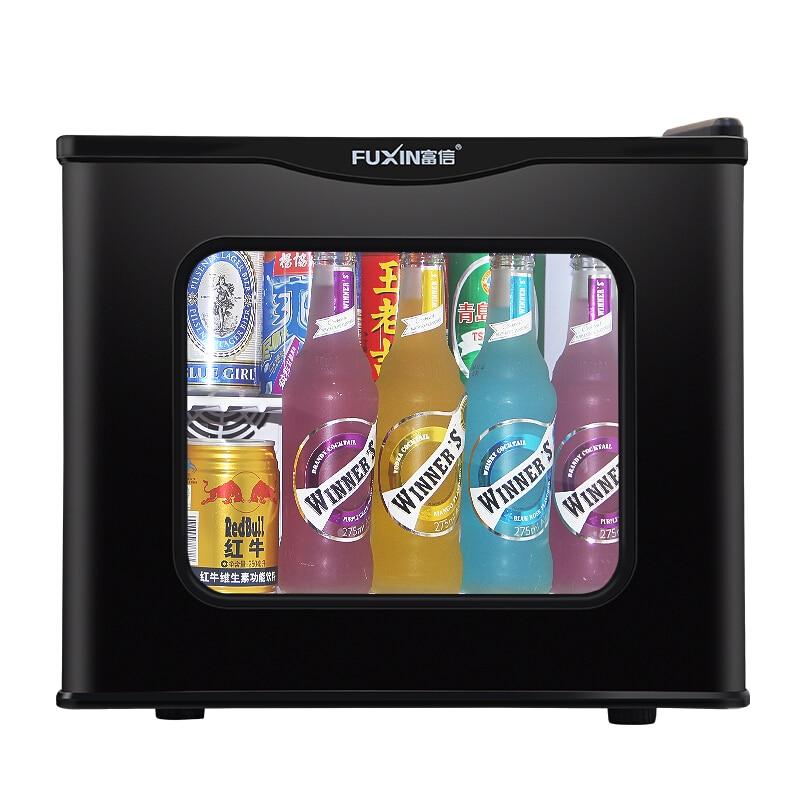 Fuxin Refrigerator Small Home Single-door Mini Dormitory Heating Office Hotel Fridges Portable Fridge Camping Refrigerators