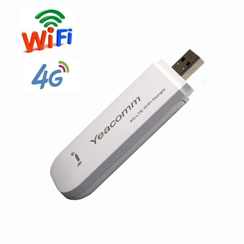 Brezplačna dostava! CAT4 150Mbps TDD FDD LTE odklenil USB 3g 4g wifi dongle brezžični usmerjevalnik modem z režo za SIM kartico