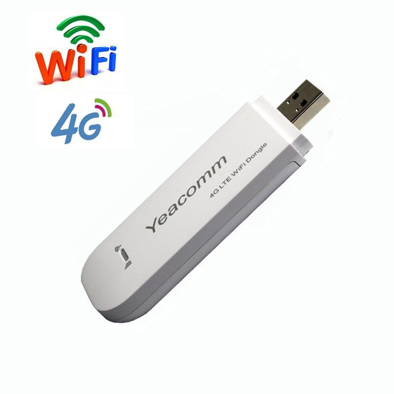 Livraison Gratuite! CAT4 150 Mbps TDD FDD LTE débloqué USB 3g 4g wifi dongle routeur Modem sans fil avec fente pour carte SIM