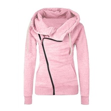 ZOGAA 2019 spring new pink hoodie casual comfortable street clothing 5 color cotton fashion  hoodies women