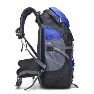 Image 4 - Водонепроницаемый походный рюкзак Free Knight 50L, походный дорожный рюкзак для мужчин, женщин и мужчин, спортивная сумка для альпинизма на открытом воздухе, 5 цветов