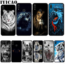 IYICAO bear tiger lion Soft Case for Huawei P20 Pro P10 P8 P9 P30 Lite Mini 2017 P Smart 2019 Cover(China)