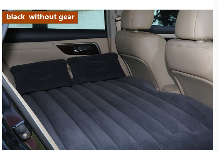 Betos Car Air Mattress Travel Bed Auto Back Seat Cover Inflatable Mattress Air Bed Good Quality Inflatable Car Bed For Camping drive travel deflatable air inflation bed mattress suv camping pvc material car seat cover cushion with car electric air pump