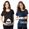 Плюс Размер Женщин По Беременности И Родам Fish Tank Печать С Коротким Рукавом О-Образным Вырезом Футболка
