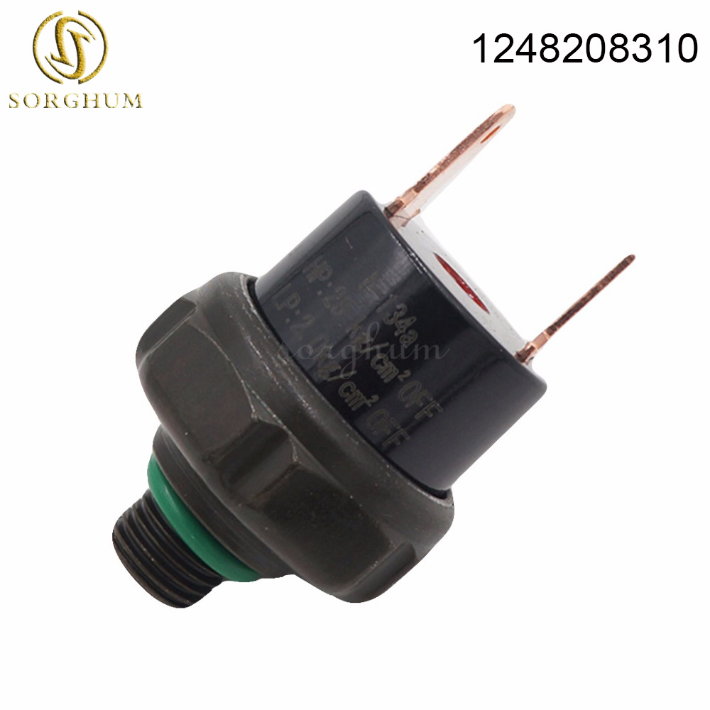 1248208310 For <font><b>Mercedes</b></font> W126 300D 380SLC A/C Pressure Switch Aftermarket BEHR <font><b>124</b></font> 821 36 51,1248213651,<font><b>124</b></font> 820 83 10 image