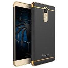 100% original ipaky brand luxury Classic 3 in 1 design for xiaomi redmi note 3 plastic case for redmi note3 pro in stock
