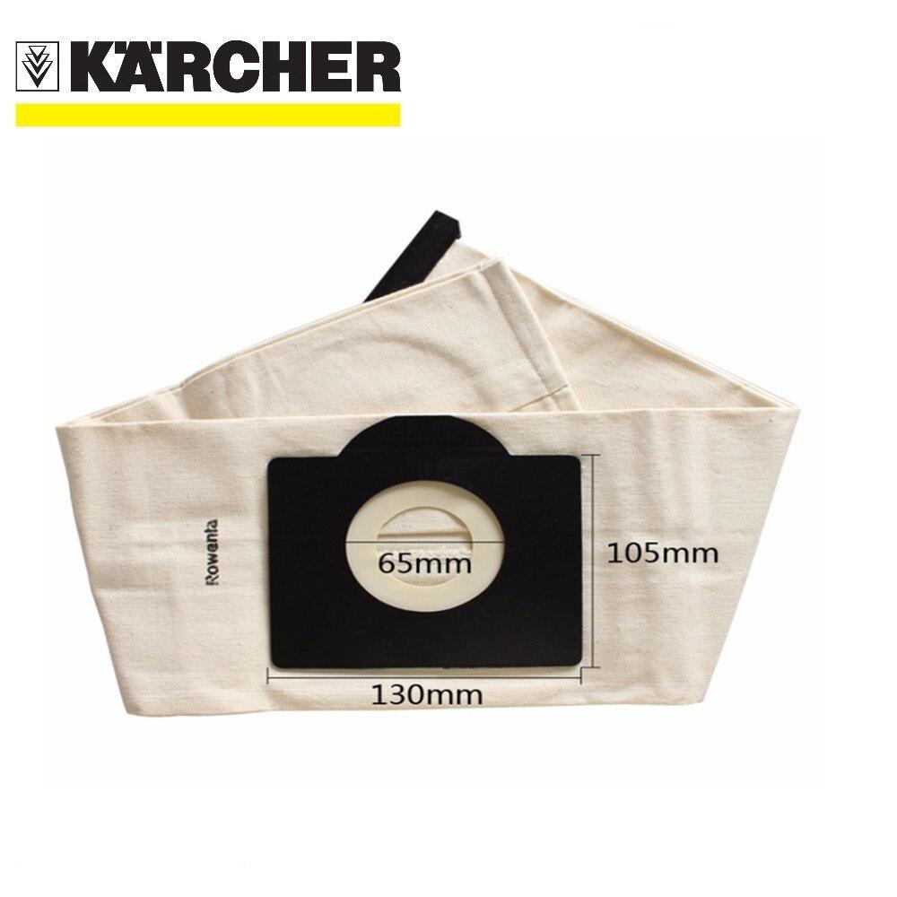 Vacuum Cleaner Bag Washable Dust Bag for Vacuum Cleaner Rowenta Karcher HR6675 nalaska fakir fif wirbel soteco,foma etc