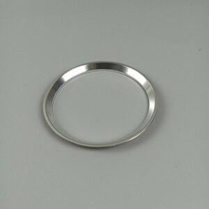 Lenkrad Ring Dekoration Abdeckung Trim Für Mercedes Benz GLK GLA CLA GLC GLE EINE C E Klasse Aluminium Legierung auto Zubehör