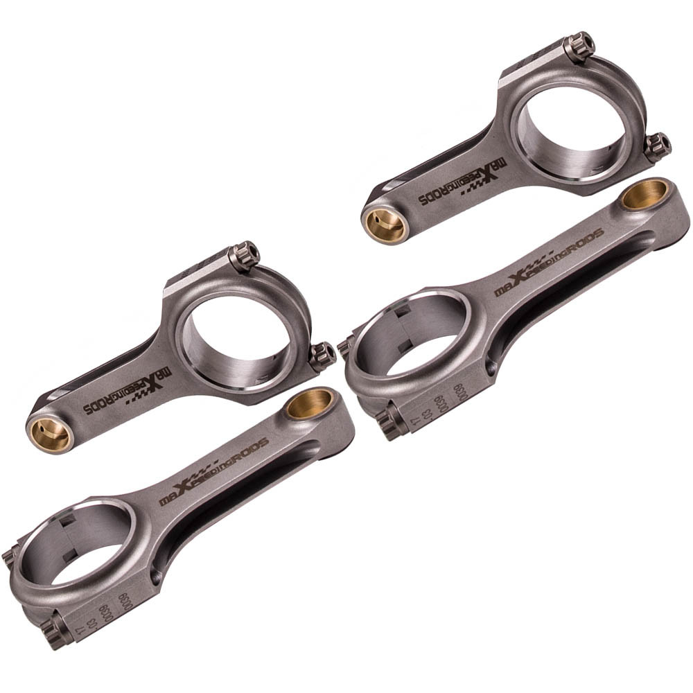 maXpeedingrods Engine Connecting Rods 133mm for Mazda MX5 1.6 16v Miata 1.8L with 5//16 ARP 2000 Bolts
