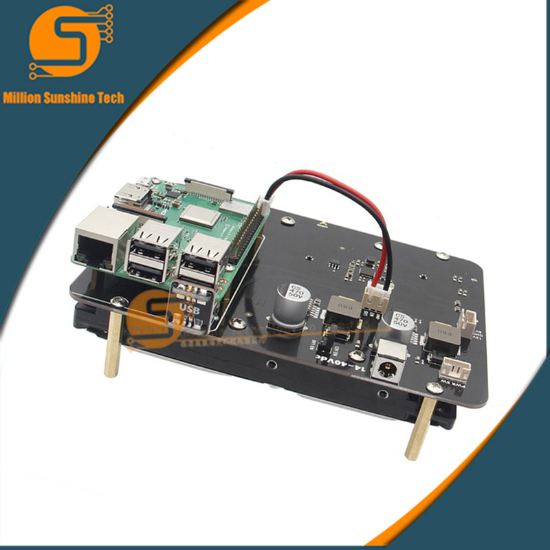 Raspberry Pi 3 Model B+(Plus) SATA 3.5 inch HDD Hard Disk Drive Storage Expansion Board X830 Extension Module For Pi3 B+/3B/2B/B expansion module elc md204l text panel